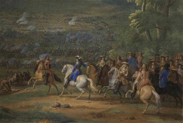 La derrota en la batalla de Rocroi fue un duro golpe para los tercios.