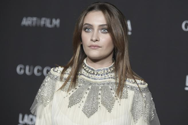 Paris Jackson at the 8 annual LACMA in Los Angeles, November 2018