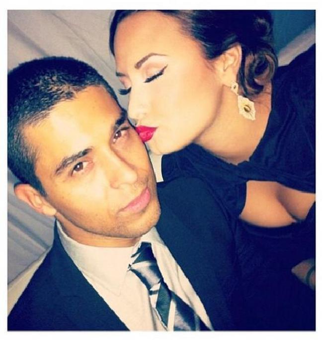 Demi Lovato and boyfriend, Wilmer Valderrama