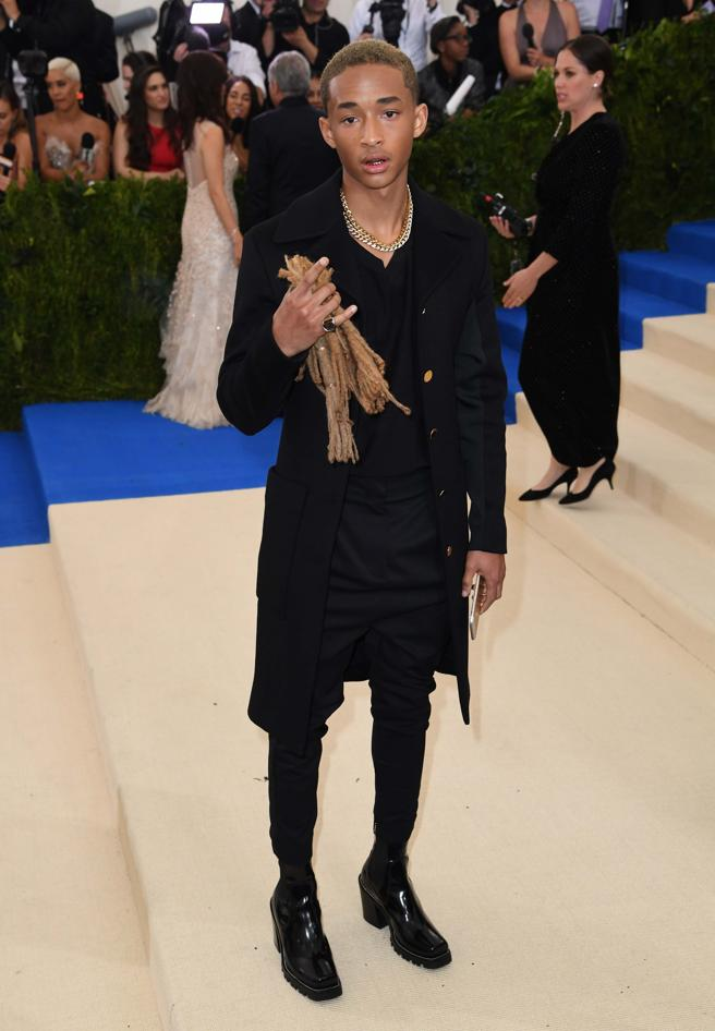 Jaden Smith starred in a moment of the most rare in the gala of 2017