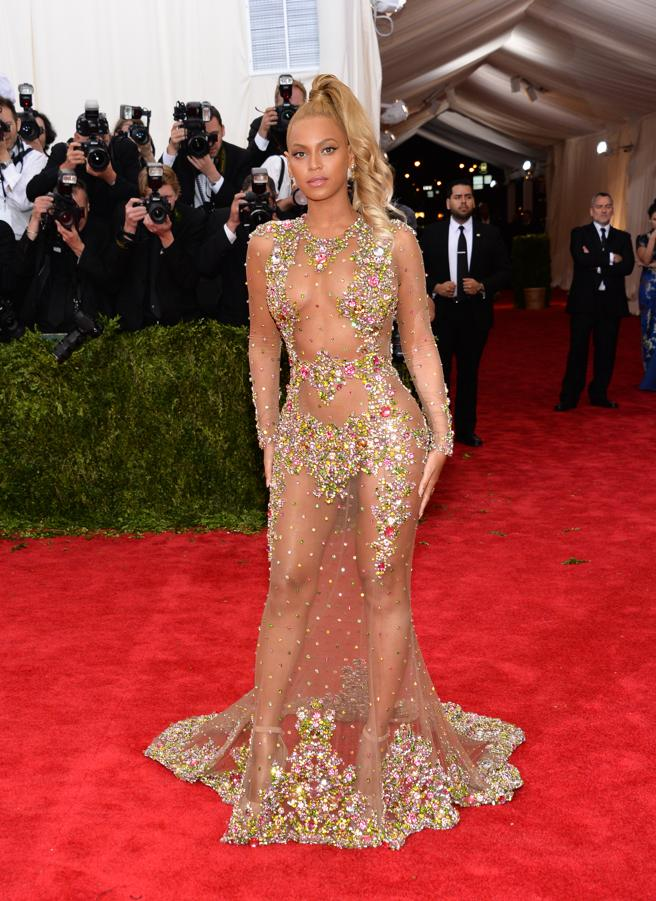 Beyoncé bragged body and curves in the gala of 2015