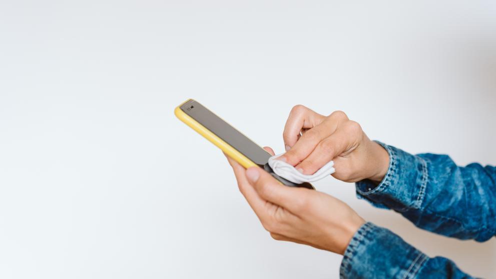 Cómo desinfectar tu móvil de virus y bacterias?