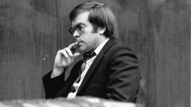 Richard Cottingham durante uno de los juicios