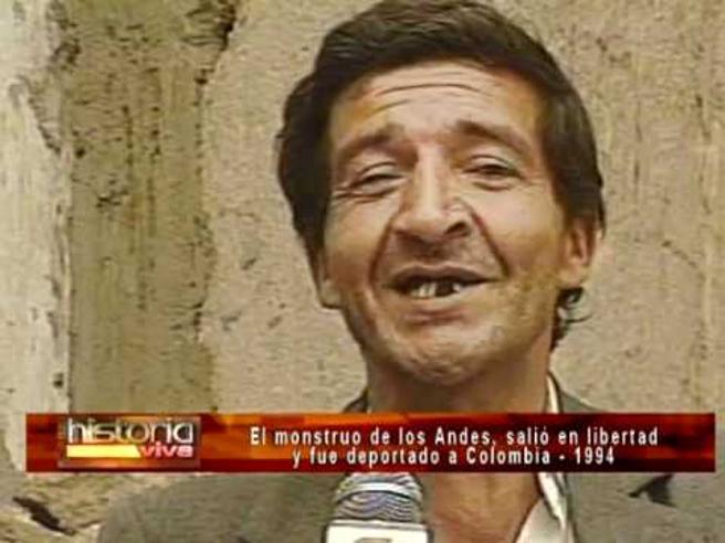 Pedro Alonso López hablando para la televisión