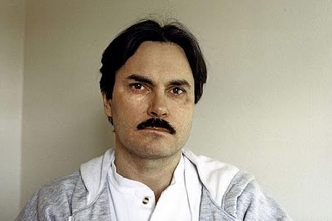 John Ausonius antes de una entrevista desde la cárcel