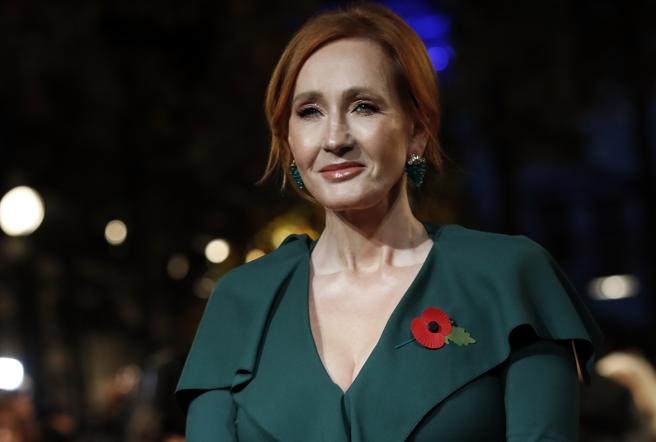 JK Rowling at the premiere of the latest film 'Fantastic Creatures and where to find them'