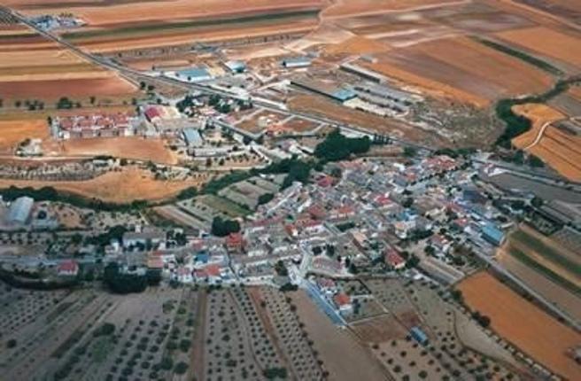 Casco urbano de Ventas de Huelma, en cuyo término municipal se busca al oscuro felino