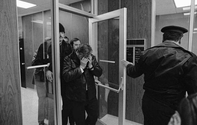 John Wayne Gacy una vez detenido