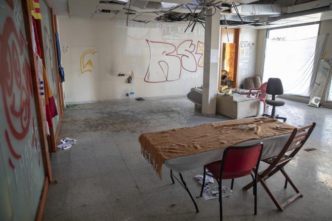 Local de Sabadell donde una joven denunció haber sido violada por varios hombres