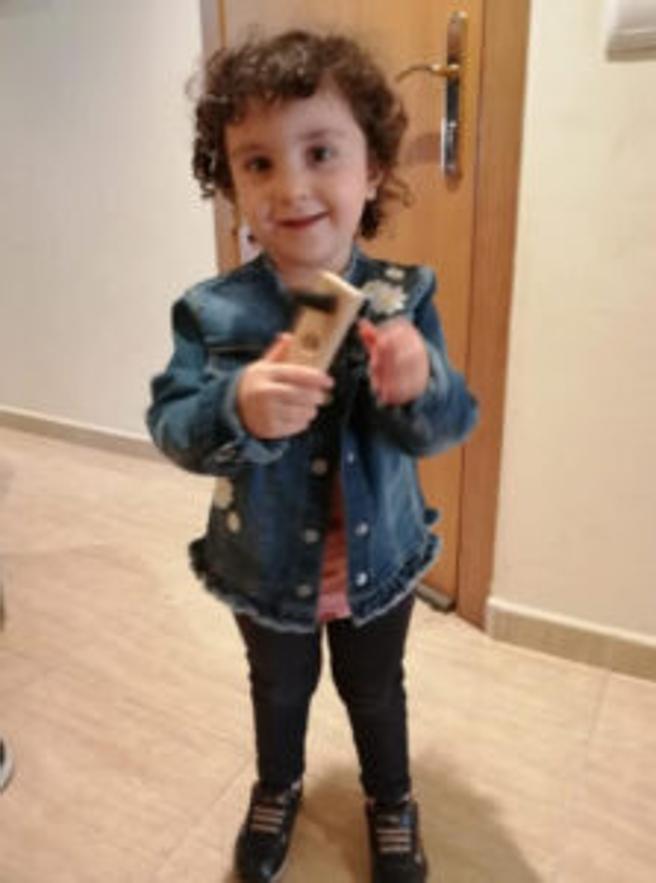 La pequeña Amelia