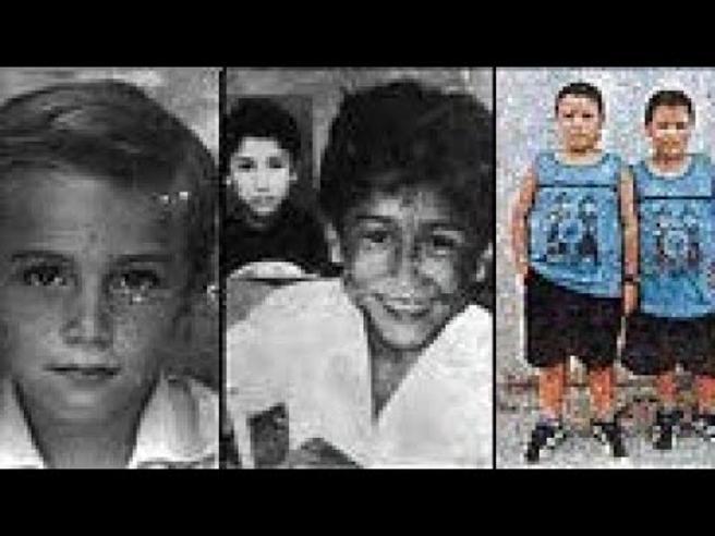 Algunas de las víctimas de Garavito