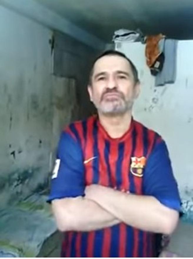 Dorancel Vargas, en un vídeo de YouTube