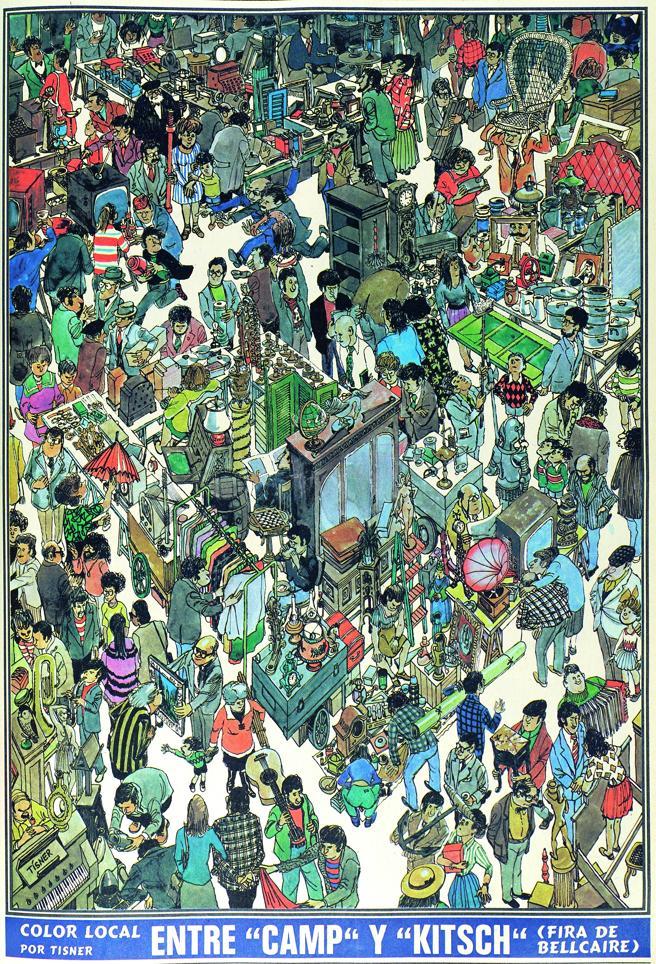From the exhibition of 'Cartoonists, humorists and illustrators of' La Vanguardia '1881 - 2006'.