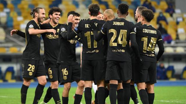 Dinamo de Kiev - Barcelona: Fútbol, en directo