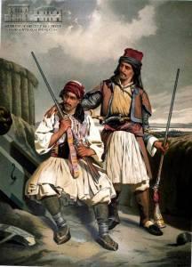 Έλληνες με καριοφύλλια