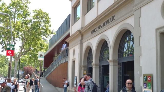 Montjuic Funicular Station