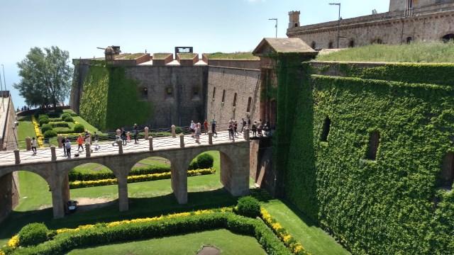 Castell de Montjuic Entrance