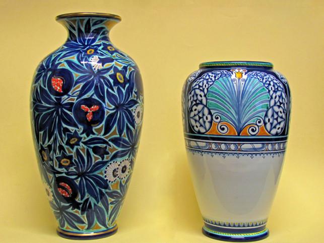 Vasi Liberty in ceramica di Faenza