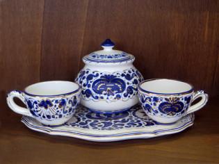 Servizio Te ceramica Faenza