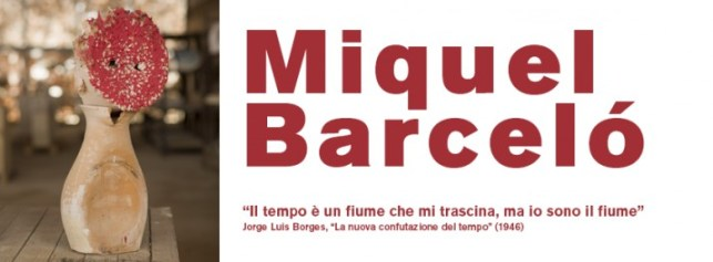 the Miquel Barceló exhibition in Faenza