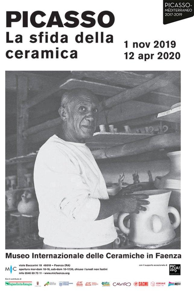 """la mostra """"Picasso, La sfida della ceramica"""" al Mic di Faenza 2019/2020"""