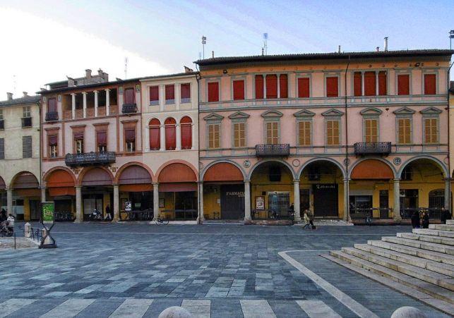 Piazza della Libertà a Faenza