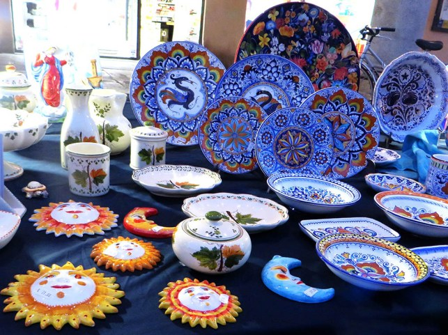 artistic ceramic stall - made in italy 2020