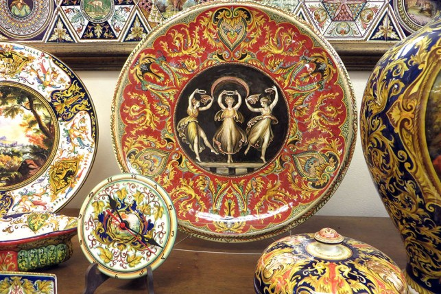 exhibithion of Raphaelesque ceramic at made in italy 2020