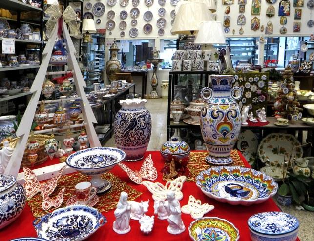 ceramiche di natale la vecchia faenza