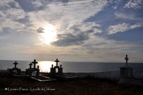 Grecia, Aghios Esfriatos: il cimitero dei confinati politici.