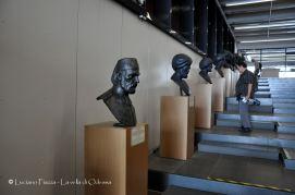 Turchia, Istanbul: Museo del mare: i busti degli ammiragli ottomani.