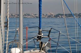 L'ingresso nel Bosforo dal Mar di Marmara.