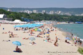 Bulgaria, Varna: la spiaggia.