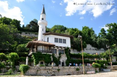 """Bulgaria, Balchik:, il """"palazzo"""" della regina Marie."""