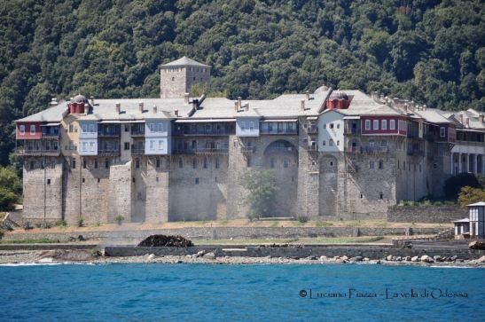 Grecia, monastero del Monte Athos.