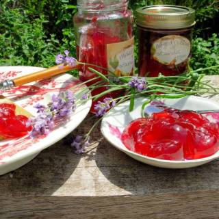 Mixed Currant and Lavender Jelly
