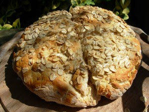 Oat Scone Bread