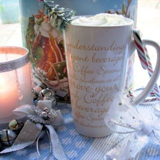 Spiced Christmas Coffee a gift in a jar