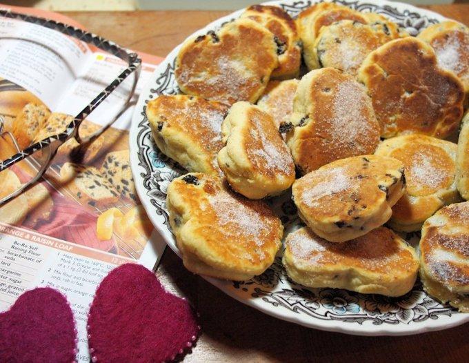 Romantic Welsh Griddle Cakes