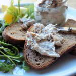 Smoked & Peppered Mackerel Pâté with Rye Bread Toasts