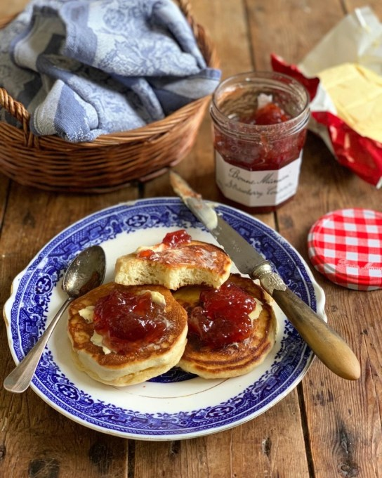Be-Ro Dropped Scones (Griddle Cakes)