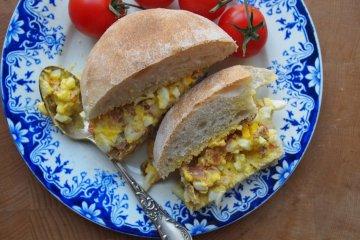 Old-Fashioned Egg & Bacon Sandwich Spread