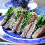 Victorian Watercress Tea Sandwiches
