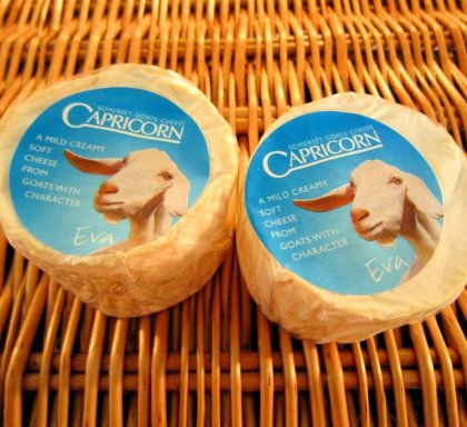 Capricorn Goat's Cheese for the Capricorn Challenge