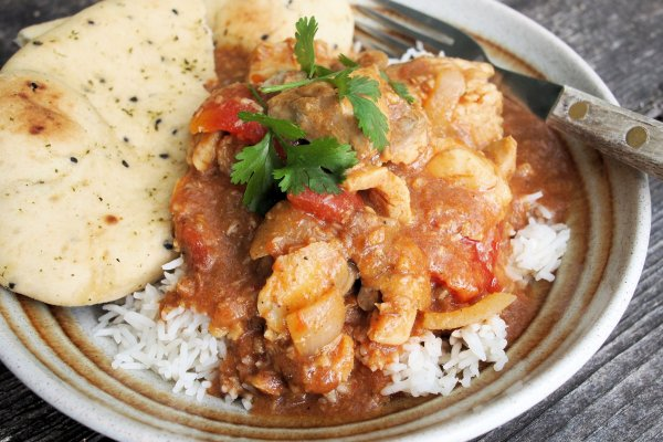 Easy Fish Curry with Coley