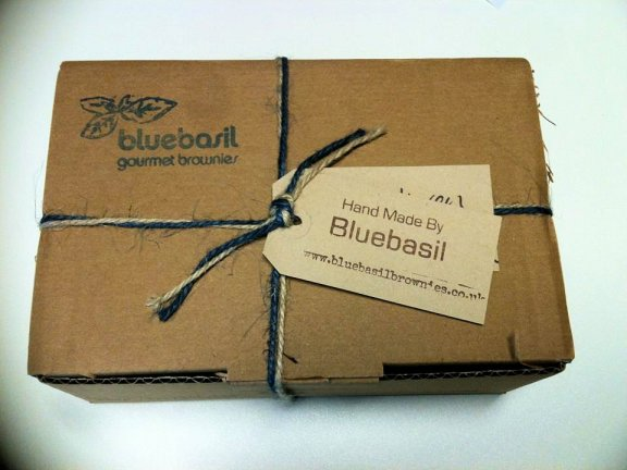 Bluebasil Gourmet Brownies