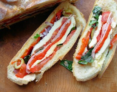 Pan Bagnat ~ A French Picnic Sandwich for a Summer's Day Picnic