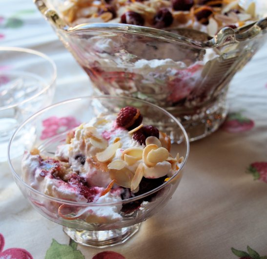 "Frolicking Fun and Frivolity with ""Whim Wham""  ~ A Scottish Regency Trifle ~"
