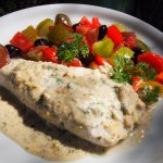 Middle Eastern Tahini and Lemon Baked Fish - Perfect for the 5:2 Diet