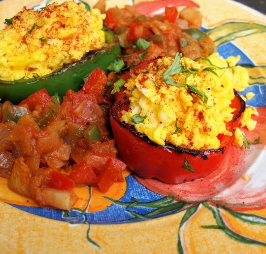 Mexican Breakfast Eggs - Two Ways